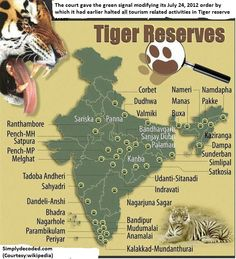 India's Tiger Reserves_Oct 2012