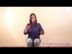 El cocodrilo - Juego de palmas - YouTube