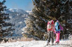 Summit Trail, Boise Mountains, near Idaho City  visitidaho.org #skiing #xcountry #idahocity #idaho