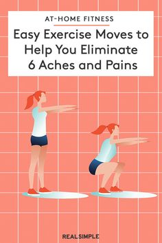 Simple Exercise Moves to Help You Eliminate 6 Annoying Aches and Pains Fit Board Workouts, Easy Workouts, At Home Workouts, Wellness Fitness, Fitness Tips, Fitness Motivation, Simple Fit Board, Muscles In Your Body, Get Healthy