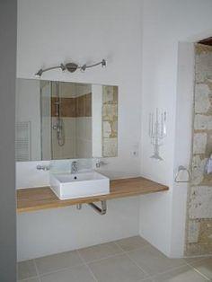 Château de St Paul: Bathroom at the gîte - France-Voyage.com