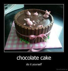 Pinterest Do It Yourself | demotivation.us_chocolate-cake-do-it-yourself_136150234246.jpg