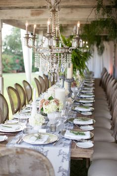 A Classic Outdoor Garden Wedding | Revelry Event Designers | Rancho Valencia | Coordinator: Amorology | Additional Rentals: Town and Country Event Rentals & Archive Vintage Rentals | Floral Design: Twigg Botanicals | Photography: Birds of a Feather | Music: Blue Note Band | Linens: La Tavola & Wildflower Linens