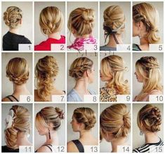 Cute back to school hairstyles tutorial Braided ponytail Easy top knot updo for long hair 2012, via YouTube. Description from pinterest.com. I searched for this on bing.com/images