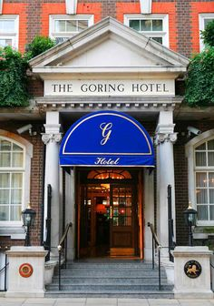 The Goring Hotel in London is one of the best places for afternoon tea, situated a few minutes walk from Victoria station, a rare family owned hotel in London.