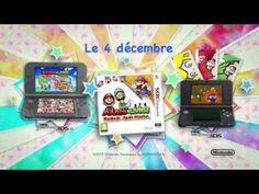 Mario & Luigi: Paper Jam Bros. - Paper Mario se plie en 4 pour Mario & Luigi (@NintendoFrance #3ds)