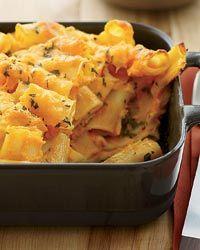 Carrot Macaroni and Cheese // More Baked Pastas: http://www.foodandwine.com/slideshows/baked-pasta-dishes #foodandwine