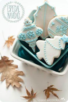 galletas decoradas navidad_caramel cookie: