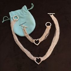 8bf8d3995c26 Tiffany And Co Heart Necklace And Bracelet Set - Necklaces are an essential  component of fashion jewelry because the bases