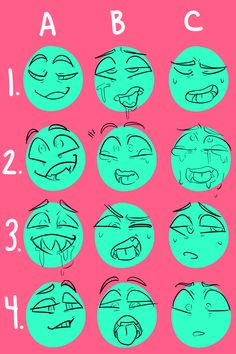 New Drawing Reference Poses Male Facial Expressions Ideas Drawing Expressions, Facial Expressions, Drawing Base, Drawing Tips, Drawing Drawing, Anatomy Drawing, Drawing Practice, Drawing Ideas, Drawing Challenge