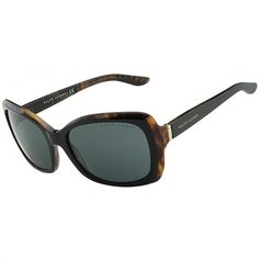 Óculos de Sol Ralph Lauren Acetato Tartaruga e Preto - RL8134526087 a4d3fff192