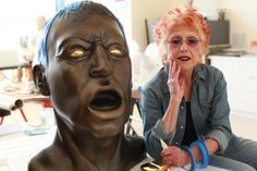 Judy Chicago famous for the Dinner Party at the height of the feminist era - The Washington Post