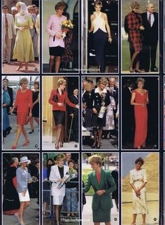 Styles of Diana Princess Diana Dresses, Princess Diana Family, Princess Diana Pictures, Princes Diana, Royal Princess, Prince And Princess, Princess Of Wales, Most Beautiful Women, Amazing Women