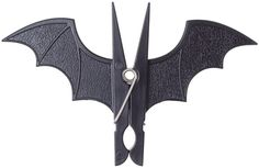 BAT CHIP CLIP - Let resting bats hang! This fun clip is shaped like hanging bat! Perfect for using to either�