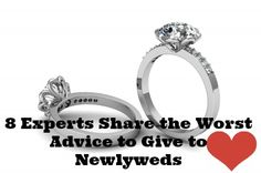 Some newlywed advice SHOULD BE IGNORED!