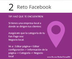 TIP para #Facebook Utiliza la categoría correcta. Si tienes un #restaurante o café, ahora puedes marcar esa opción! #facebookmarketing #riolan