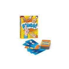 Fingo!, gyorsasági és megfigyelő kártyajáték 5 éves kortól - FoxMind