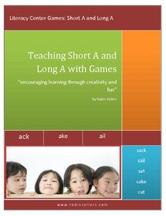 {Free} Your students learn to recognize short A and long A vowel sounds in a creative and fun way.