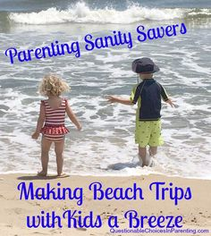 Blogger & Mom @amushro shares her best tips for keeping your sanity during beach trips with the kids.