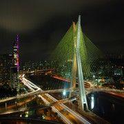 Ponte Estaiada - São Paulo, Brazil