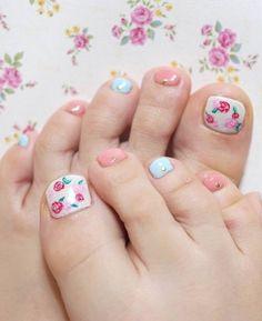 Para las que les gusta lo tierno #nails