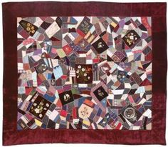 How to Sew Crazy Quilting by Barbara Randle through Threads Magazine