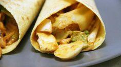 Wraps poulet kimchi