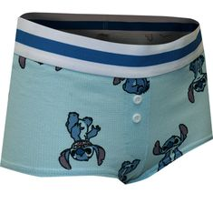 Calling all Stitch fans! These Lilo and Stitch movie sleep shorts for ladies are made from waffle knit fabric. These pajama shorts are a slightly cheeky style and are perfect for watching your favorite Disney movie on the couch. Lilo And Stitch Movie, Best Pajamas, Pajama Shorts, Waffle Knit, Knitted Fabric, Lounge Wear, Diaper Bag, Gym Shorts Womens, Sleep
