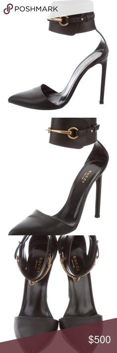 Gucci Ursula horsebit heels pumps sz.40 In great condition gorgeous Gucci horsebit pointed toe, size 40 european will fit US 9.5 or 10 if you see them they are still available, thanks for looking. Gucci Shoes Heels