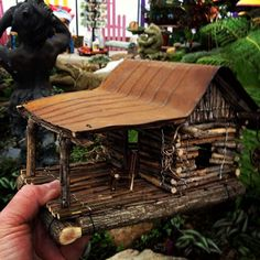 Heres how you are able to earn a fairy house in your backyard. Fairy houses are structures made from pure material alongside special recycled mementos that help characterize the houses personality like a metallic roof, or little stones to generate … Fairy Garden Houses, Gnome Garden, Fairy Gardening, Fairies Garden, Gardening Blogs, Garden Crafts, Garden Art, Garden Ideas, Twig Crafts