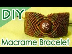 DIY:SEDONA Vortex Stone Bracelet Tutorial 巻き結びブレスレットの作り方 - YouTube