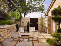 House on a Hill - contemporary - patio - austin - Mark Ashby Design