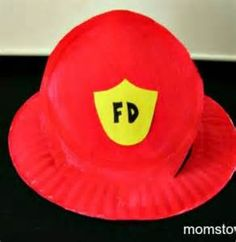 How to Make a Firefighter Hat for your little Fireman or Firewoman