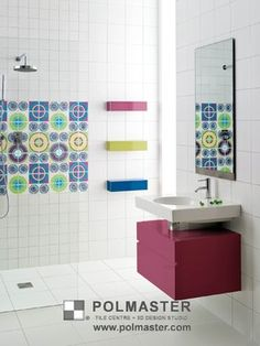 OXICER TILE COLLECTION - eclectic - bathroom - toronto - by POLMASTER Tile Centre + 3D Design Studio
