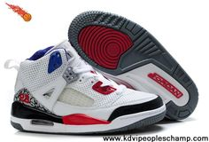 Latest Listing Discount Kids Jordan Spizike White Black Red Sports Shoes Shop