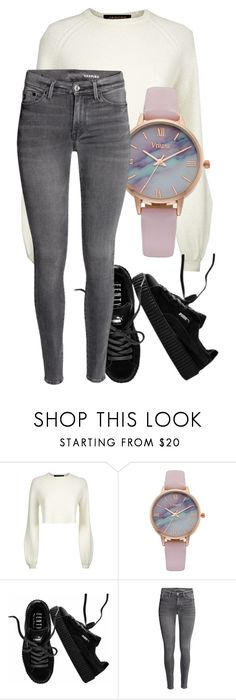 """Untitled #1480"" by cockles ❤ liked on Polyvore featuring Jaeger, Vivani and Puma"