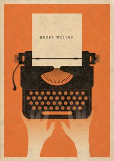 Ghost Writer poster by Robbie Porter