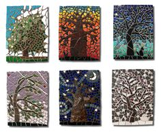 Tree and Sky Series Mosaic