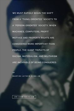 MLK on technology and people