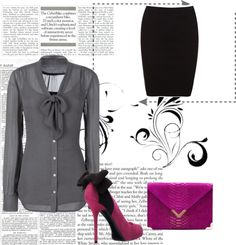 """""""work chic"""" by lpaige12 ❤ liked on Polyvore"""