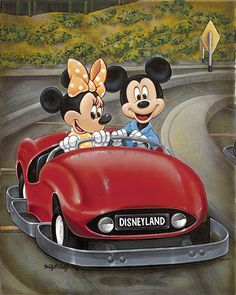 """Autopia Mickey"" by Bridget McCarty"