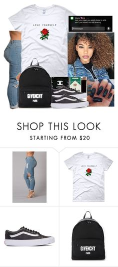 """""""More Life"""" by wavyjai ❤ liked on Polyvore featuring Vans and Givenchy"""