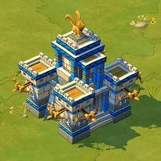 Babylon Fortress, Spencer Ailts on ArtStation at https://artstation.com/artwork/babylon-fortress