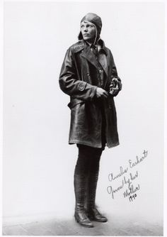 Emelia Earhart, my favorite woman from history.