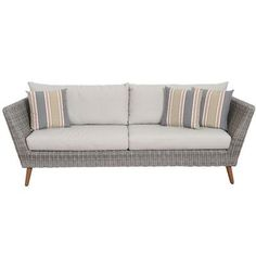 Corrigan Studio Brighton Patio Sofa with Cushions