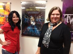 Author Gena Showalter and her agent Deidre Knight of the Knight Agency