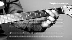 """Blues Guitar Lesson - Shuffle Rhythm & Chords """"Fill It"""""""