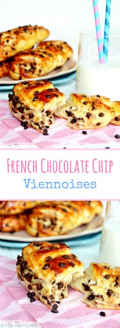 French Chocolate Chip Viennoises