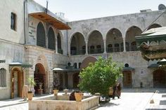 Aleppo city Aleppo City, Cities, Mansions, House Styles, Heart, Syria, City, Luxury Houses, Palaces