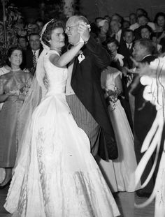 Joe Kennedy dancing with his daughter in law, Jackie